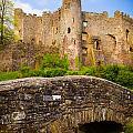 Laugharne Castle by Mark Llewellyn