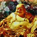 Laughing Buddha  by Janice MacLellan