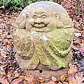 Laughing Forest Buddha by James Potts