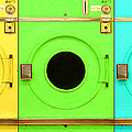 Laundromat Drying Machines Three 20130801 by Wingsdomain Art and Photography
