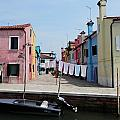 Laundry Day In Burano by Pema Hou