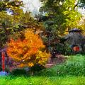 Laura Bradley Park Japanese Garden 02 by Thomas Woolworth