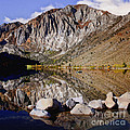 Laural Mountain Convict Lake California by Bob and Nadine Johnston