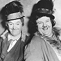 Laurel And Hardy by Underwood Archives