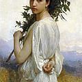 Laurel Branch by William Bouguereau