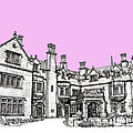 Laurel Hall In Pink  by Adendorff Design