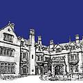 Laurel Hall In Royal Blue by Adendorff Design