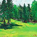Laurelhurst Park by Joseph Demaree