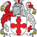 Laurence Coat Of Arms Irish by Heraldry