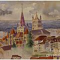 Lausanne by Godwin Cassar