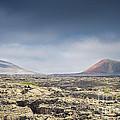Lava Flows Lanzarote by Michael David Murphy