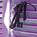 Lavender Cottage Keys by Angie Mahoney