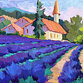 Lavender Field In St. Columne by Diane McClary