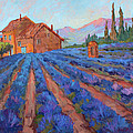 Lavender Field Provence by Diane McClary