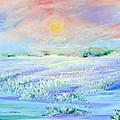 Lavender Fields by Linda Rauch