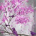Lavender Leisure- Lavender Wall Art by Lourry Legarde