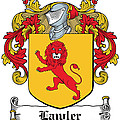 Lawler Coat Of Arms Irish by Heraldry