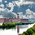 Lawrence Ma Historic Clock Tower by Barbara S Nickerson