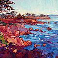 Layers Of Monterey by Erin Hanson