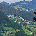 Lazec, Near Cerkno, Littoral Region by Panoramic Images