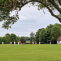 Lazy Sunday Afternoon - Cricket On The Village Green by Gill Billington