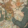 Le Baiser by Konstantin Andreevic Somov