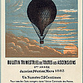 Le Ballon Advertising For French Aeronautical Journal by Georgia Fowler
