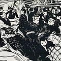 Le Bon Marche by Felix Edouard Vallotton