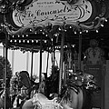 Le Carrousel by David Rucker