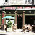 Le Charleston Bar In Tournus by Christiane Schulze Art And Photography
