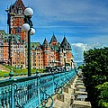 Le Chateau Frontenac by Mel Steinhauer