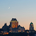 Le Chateau Frontenac - Quebec City by Juergen Roth