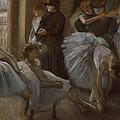 Le Foyer De L'opera by Edgar Degas