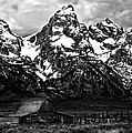 Le Grande Teton And Barn by Patrick Derickson