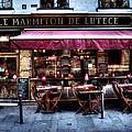Le Marmiton De Lutece Paris France by Evie Carrier