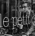 le petit cafe' Montreal by Amy Fearn