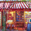 Le Petite Bistro by David Lloyd Glover