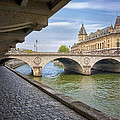 Le Pont Napoleon Paris by Lumiere De Liesse Ltd Images of Robert L Lease