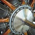 Le Rhone C-9j Engine by Michelle Calkins
