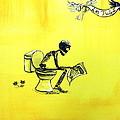 Le Tub I by Heather Calderon