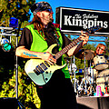 Lead Guitarist Jimmy Dence - The Fabulous Kingpins by David Patterson