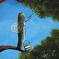 Leaf Fairy By Shawna Erback by Shawna Erback