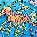 Leafy Sea Dragon by Tamara Blyth