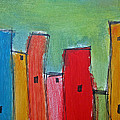 Leaning Towers by Rhodes Rumsey