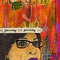Learning From Yesterday - Journal Art by Angela L Walker