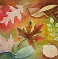 Leaves L by Patricia Novack