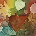 Leaves Vl by Patricia Novack