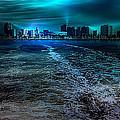 Leaving Long Beach by Wayne Wood