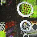 Leaving The Dark Abstract  by Nancy Merkle