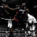 Lebron And D Wade Showtime by Brian Reaves